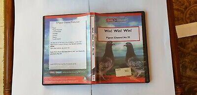 RACING PIGEON DVD Win Win Win Guido Loockx, Frans Rondags, Leo Kurverers De Weer