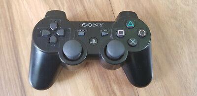 Genuine Sony Dualshock 3 Wireless PS3 Controller Black