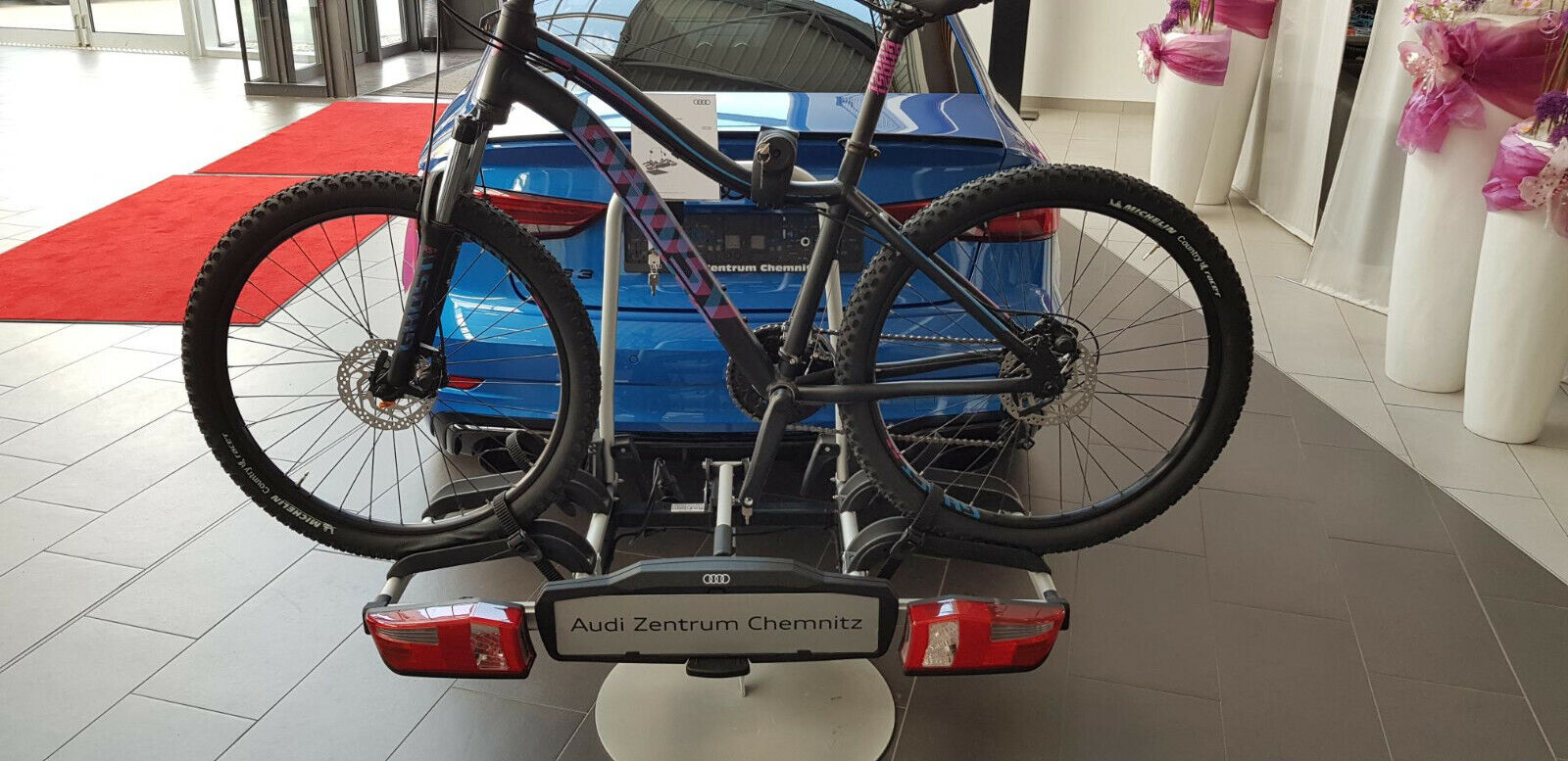 Audi Original Fahrradträger Anhängevorrichtung Übler P22S 4K0071105 E-Bike geeig