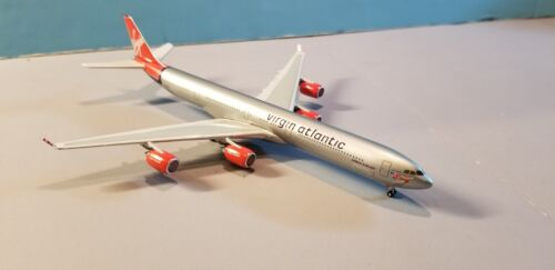 GEMINI JETS VIRGIN ATLANTIC COVER GIRL A340-600 1:400 SCALE DIECAST METAL MODEL