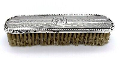 Silver Backed Clothes Brush by Synyer & Beddoes – Chester 1912