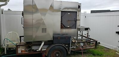 2002 - 5.3 X 7.125 Trailer-mounted Towable Ole Hickory Smoker For Sale In Sou