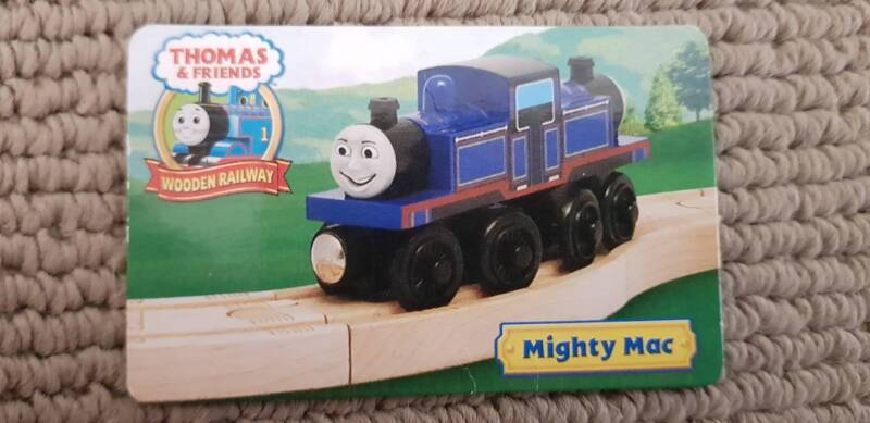 Thomas Friends Wooden Railway Mighty Mac Toys Indoor