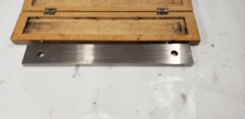 CEJ Starrett 250 mm Long Gauge Block  in Box. shelf w2