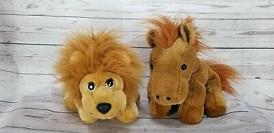 RBI Hand Puppets Lion and Horse Roar and Neigh Sounds
