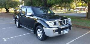 2009 NISSAN NAVARA ST/X 4X4 DUAL CAB TURBO DIESEL Bentley Canning Area Preview