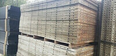 Aluminum Used Concrete Forms--36x9 Used Grade B Condition Only 250.00each