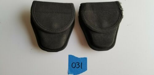 Bianchi Nylon  Handcuff Carrier Pouch Holster Holder Case Button Snap