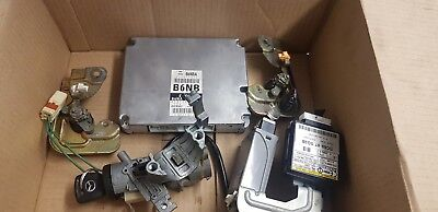 MAZDA MX5 (MK2.5 2001 - 2005) B6NB 1.6 ECU & IMMOBILISOR SET / IGNITION ETC