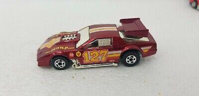 Vintage 1986 Hot Wheels Flip Outs Flipper Snapper 300 HP #127 Camaro Wind Red