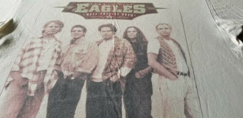EAGLES WHEN HELL FREEZES OVER VINTAGE CONCERT TOUR TEE SHIRT 2 XL SOFT RARE 1994
