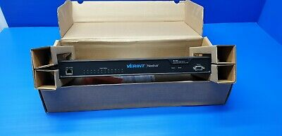 Verint Nextiva S1712e-t-hd 12-port Cctv Networked Ip Video Server Encoder