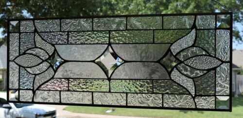 Contemporary Victorian Stained Glass Window