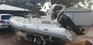 Rigid Inflatable 6 meter boat