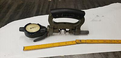 Mitutoyo 201-151 Snap Gauge 0-1 Range 2803-10 Indicator .0001 - .025