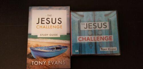 The JESUS CHALLENGE Tony Evans 8 cds & study guide
