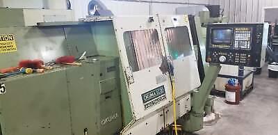 Okuma Lc-20 Cnc Lathe Osp5000lg 40 Centers Twin Turrets Tailstock New 1988