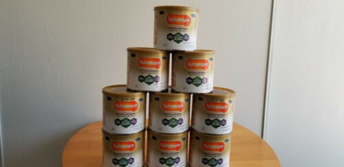 NUTRAMIGEN WITH ENFLORA LGG BABY FORMULA WITH IRON 8OZ ( 7)CANS  FREE SHIPPING