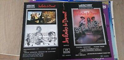 Jaquette Vidéo VHS Vintage Original Vidéo Club - LES ROUTES DU DIAMANT