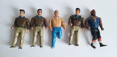Vintage A-Team Galoob Figures 1980s Rare