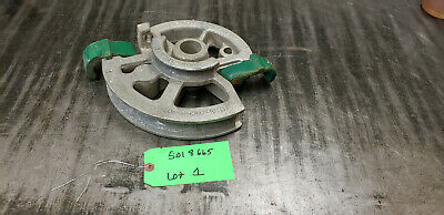 Greenlee 5018665 Shoe Only For 1818 Mechanical Conduit Bender  Lot1