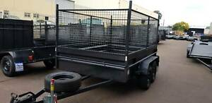 10x6 Tandem Box Trailer High Side with 900mm Cage on Road $3600/= Minchinbury Blacktown Area Preview