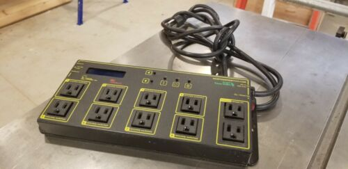 Digital Loggers Web Power Switch V 10 Outlets 15 Amp Max LCD Display