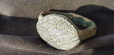Very rare Viking Warriors ring with dot design, please read description L102o