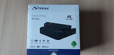 Strong SRT 2021 Box Android TV UHD 4K - Lecteur multimedia Smart IP BOX