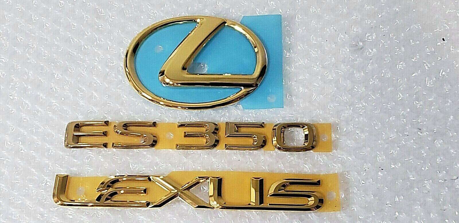 FOR 2010 LEXUS 24KT GOLD PLATED GX460 EMBLEM KIT