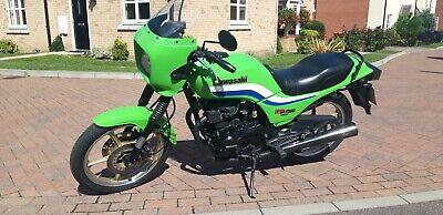 Kawasaki GPZ305 Green Eddie Lawson Replica colours  No Reserve