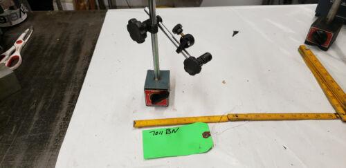 Mitutoyo 7011BN Magnetic Indicator Base w/Post Snug Gage Holder Part