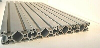 8020 T-slot Aluminum Extrusion 1530-ls 1.5 X 3 22.25 L Lot Of 4