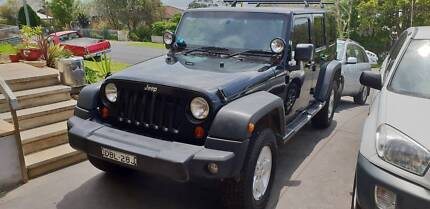 Jeep Wrangler 2007 JK 4 door auto 2.8 litre turbo diesel low km Saratoga Gosford Area Preview