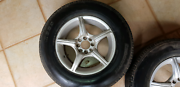 Multi Fit 15 inch rims and tyres Brinsmead Cairns City Preview