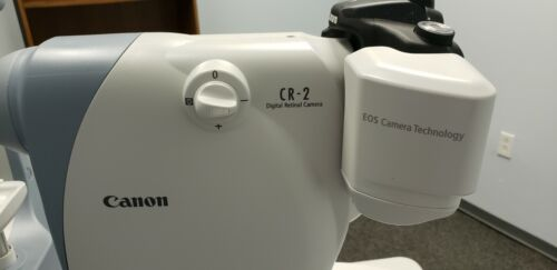 Canon CR-2 Fundus Camera System for Rear Eye Photography with Canon Eos Camera