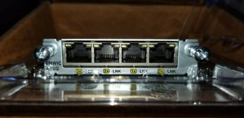 Cisco EHWIC-4ESG / 4-Port Gigabit Switch Module
