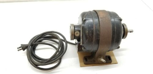 VINTAGE GE GENERAL ELECTRIC AC MOTOR WITH BASE 5KH45AB478B 1/4 HP 1725 ANTIQUE