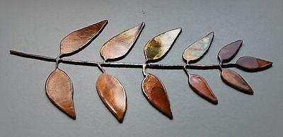 Olive Leaf Branch Metal Wall Art Decor