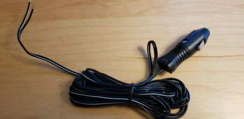 12v Car Male Plug Cigarette Lighter Adapter Power Supply. Ships From Texas.
