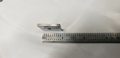 .106 Ellstrom Square Steel Gage Gauge Block.