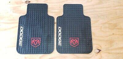 dodge ram 1500 pick-up truck rubber floor mats front set left right cool unique