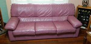Leather lounge - be quick, priced to sell!