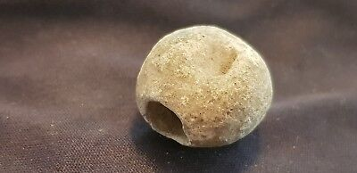 Superb Very rare Viking lead decorative bead  Please read description L116q