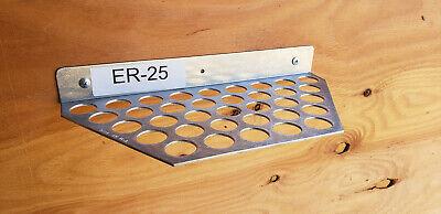 Er25 Collet Rack Holder Hold Up To 35 Collets Made In Usa
