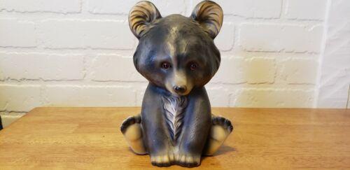 vintage ceramic bear cub bank