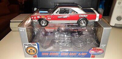 Supercar Collectibles Dick Landy 1969 Dodge Hemi Dart Q/MP 1:18 Diecast in Box