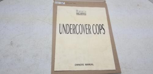 Undercover Cops Irem Manual #1381