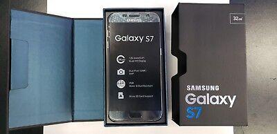 New Samsung Galaxy S7 32GB - Insidious Onyx Verizon GSM Unlocked