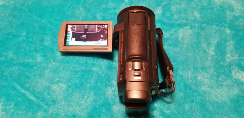 Sony Handycam 4K WiFi FDRAX33 Camcorder - Black